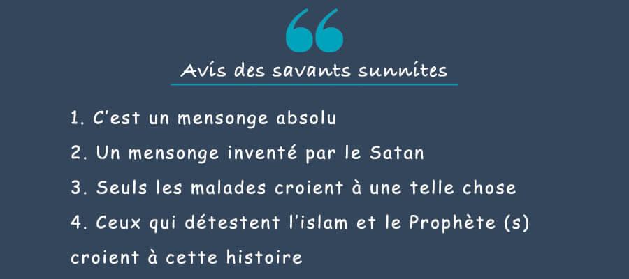 avis des savants sunnites sur fatima zahra