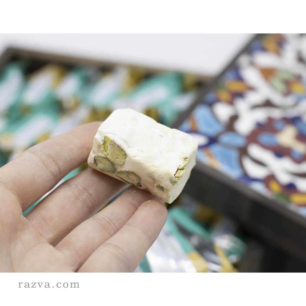 Nougat iranien le gaz   Dessert iranien au miel