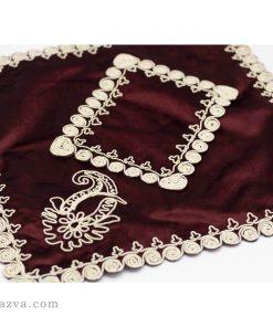 Tapis de prière islam au velours rouge