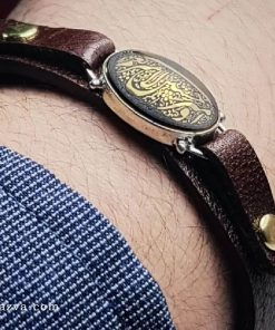 bracelet cuir pierre hadid