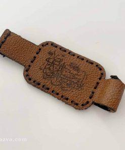 Brassard en cuir pour l'amulette pas cher