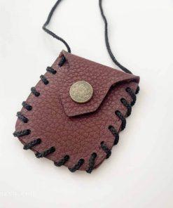 Petit sac pour garder l'amulette et les talismans