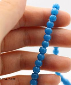 Chapelet islam 101 perles bleu plastique