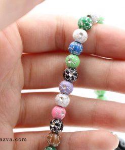 Chapelet islam 101 perles multi couleurs